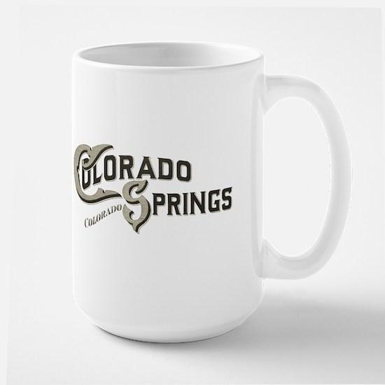 Colorado Springs Large Mug