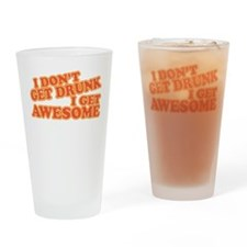 getawesome.png Drinking Glass