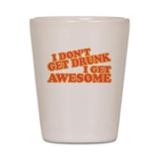 getawesome.png Shot Glass