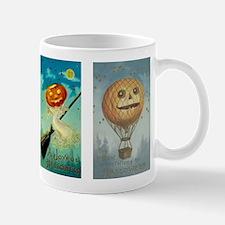 Vintage Jack-O-Lantern Halloween Mug