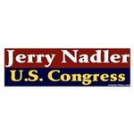 Re-elect Jerry Nadler Bumper Sticker