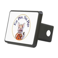 Eat Pies Not Pigs Hitch Cover
