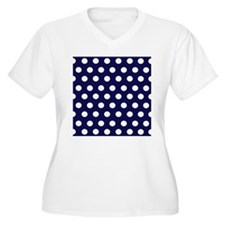Dark Blue Dots T-Shirt