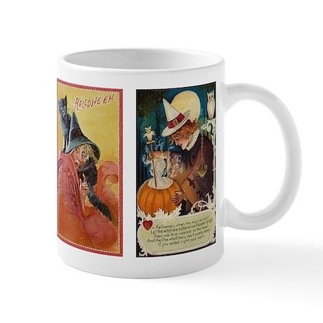 Vintage Witches Halloween Mug