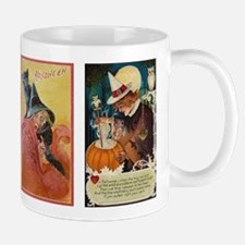 Vintage Witches Halloween Mug