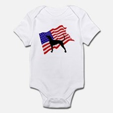 Bluetick Coonhound Infant Bodysuit