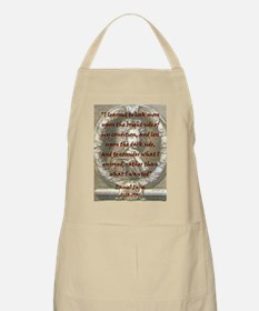 I Learned To Look More Upon - Defoe Light Apron