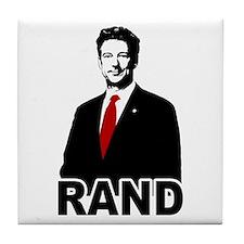 Rand Paul Tile Coaster