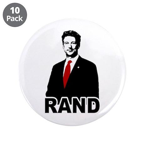 "Rand Paul 3.5"" Button (10 pack)"