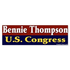 Re-elect Bennie Thompson Bumper Bumper Sticker