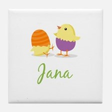 Easter Chick Jana Tile Coaster