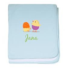 Easter Chick Jana baby blanket