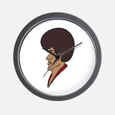 Afro Man Wall Clock