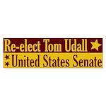 Re-elect Tom Udall Bumper Sticker