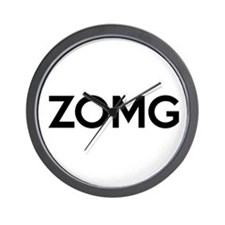 ZOMG Wall Clock