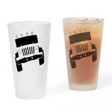 Jeepster Rock Crawler Drinking Glass