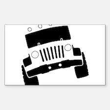 Jeepster Rock Crawler Decal