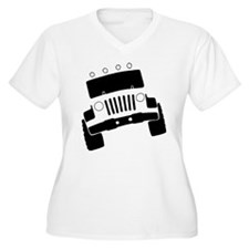 Jeepster Rock Crawler Plus Size T-Shirt