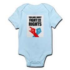 You And I Must Fight For Our Rights Body Suit