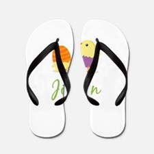 Easter Chick Jillian Flip Flops