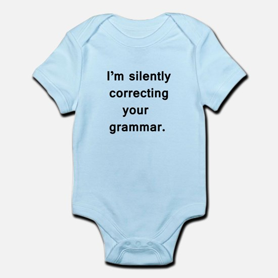 Im silently correcting your grammar. Body Suit
