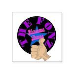 "Happy Days The Fonz Square Sticker 3"" x 3&quo"