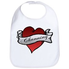 Channing Tattoo Heart Bib
