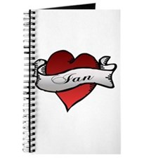 Ian Tattoo Heart Journal