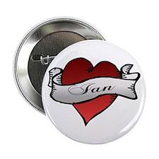 Ian Tattoo Heart Button