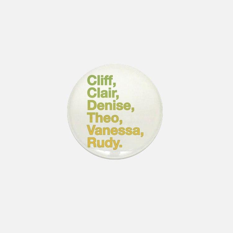 Retro 80s Cosby Mini Button