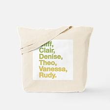 Retro 80s Cosby Tote Bag