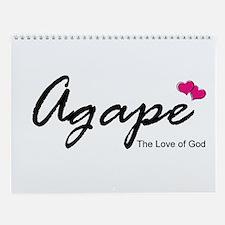 Agape Love Wall Calendar