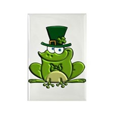 Paddy O'Frog Rectangle Magnet