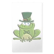 Paddy O'Frog Sticker (Rectangle)