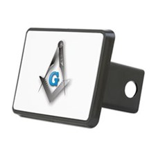 Masonic Square and Compass Hitch Cover