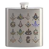 Masonic Flask Bottles