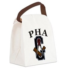 PHA Square and Compass Canvas Lunch Bag