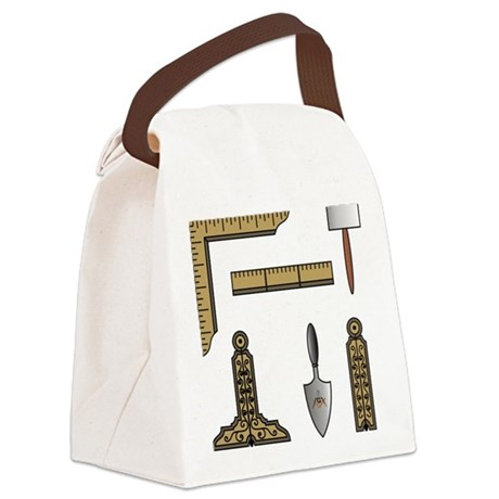 Working Tools No 4.png Canvas Lunch Bag