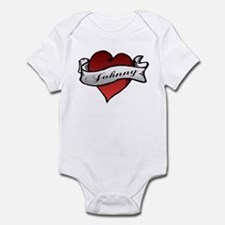 Johnny Tattoo Heart Infant Bodysuit
