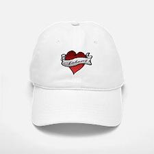 Johnny Tattoo Heart Baseball Baseball Cap
