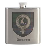 Clan armstrong tartan Flask Bottles