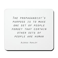Propaganda Mousepad