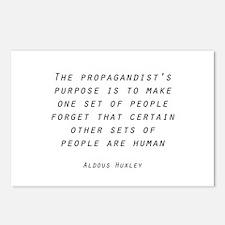 Propaganda Postcards (Package of 8)