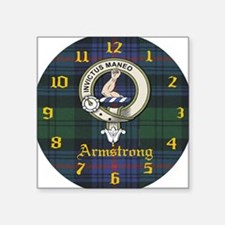 """Armstrong.jpg Square Sticker 3"""" x 3"""""""