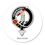 Balfour.jpg Round Car Magnet