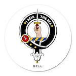 Bell.jpg Round Car Magnet