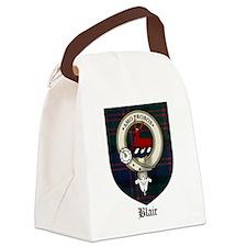 Blair Clan Crest Tartan Canvas Lunch Bag