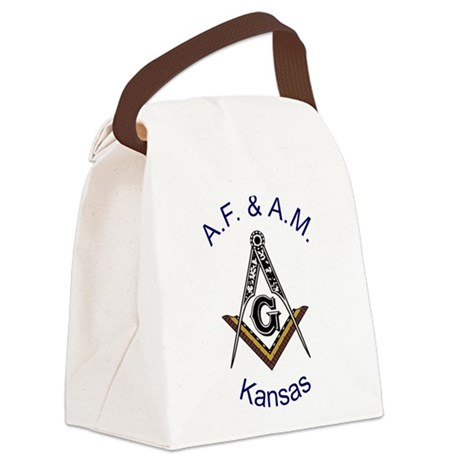Kansas with traditional No 5.png Canvas Lunch Bag