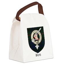 Blyth Clan Badge Tartan Canvas Lunch Bag