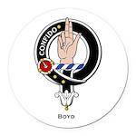 Boyd.jpg Round Car Magnet